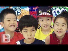 Korean Kids taste American Snacks - YouTube
