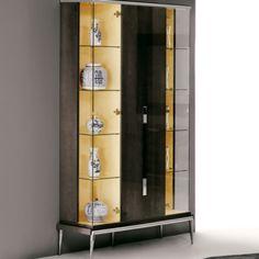 London Collection Designer Three Door Display Cabinet