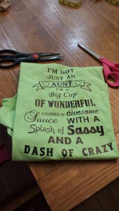 Aunt wonderful shirt