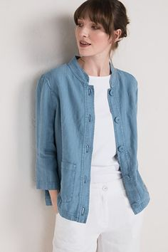 b825b2fe40f Bullfinch Jacket · Womens Linen ClothingBullfinchSummer ...