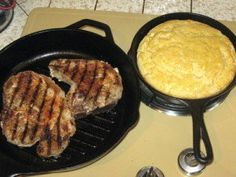 Cast Iron Cooking | The Benefits of Using Cast Iron and How To Care for it, check it out at  http://survivallife.com/cast-iron-cooking/