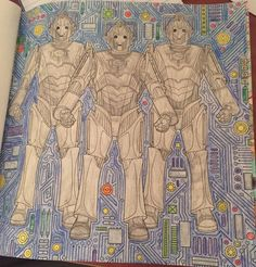 Cybermen Doctor Who Coloring Book By Syaoranlover5 On DeviantArt