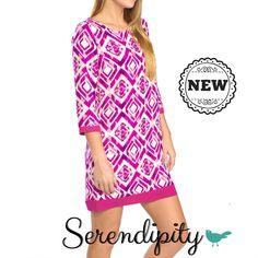 Vestido rosa 3/4 $599.00