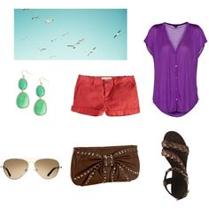Summer Outfit created by Brooke Johnson on Polyvore