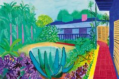 "The British artist David Hockney has often said that he lives in the present. In a typical quote, he told The Guardian in 2015: ""It's always..."