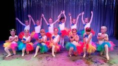Some beautiful girlies wearing our fabulous tutus! How gorgeous do they look? Designed specially by Honey B's #tutu #tutuskirt #rainbow #rainbowtutu #sparkle #ballet #ballerina #dancers
