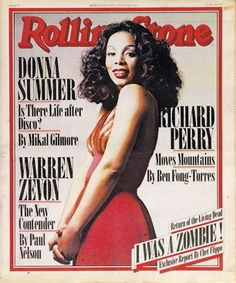 ((Rolling Stone, May 1978)) Donna talks about her life being like a hurricane when she rose to the top