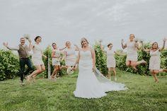 Villani Photos l Vineyard Wedding