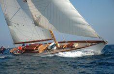 Nautical Handcrafted Decor and Ship Models: Classic Sailing Yachts