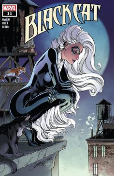Here are the April 2020 Marvel Comic Solicits. Take a look as Empyre continues, X-Men vs Fantastic Four wraps up, Marvel Zombies are Resurrected AND we look towards the big summer events. Spiderman Black Cat, Black Cat Marvel, Spiderman Art, Mary Jane Watson, Comics Girls, Dc Comics, Black Cat Comics, Mark Bagley, J Scott Campbell