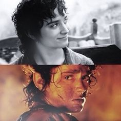 Every time I watch LOTR I am floored by Elijah's acting. All of the acting is fantastic, but his stands out