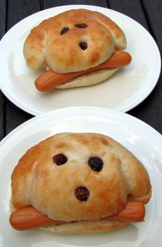"""Hot """"dogs"""" :-)) tooo cute to eat!!!!"""