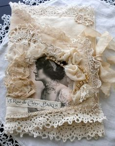 fabric and lace book - Lilla LaVine