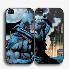 Case iphone 4 and 5 for batman love cat woman by JamesRobyno, $30.00