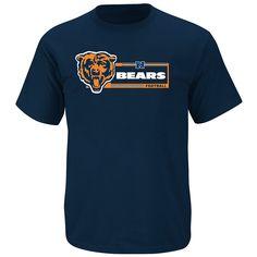 Chicago Bears NFL Men's Critical Victory VII Short Sleeve T-Shirt