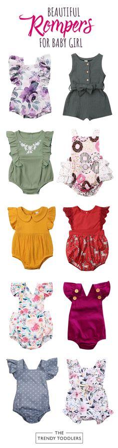 Babytown Baby Girls Pretty Heart /& Flower 2 Piece T Shirt /& Leggings Outfit Set