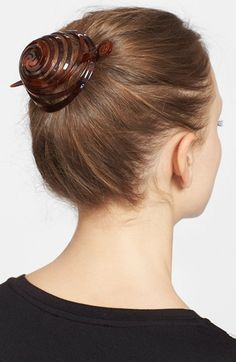Women's France Luxe 'Swirl' Chignon Cap - Brown