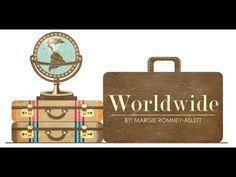 "Krótki rzut oka na papiery z kolekcji 'Worldwide"" Bazzill Basics.  A quick look at papers from the 'Worldwide' collection from Bazzill Basics. http://www.retrokraftshop.pl/pl/79-worldwide"