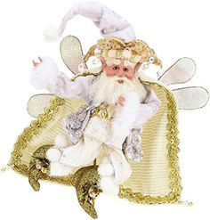 Mark Roberts 51 53366 White Christmas Fairy Small 9 5 New 2015 Fairy Figurines, Collectible Figurines, Christmas Fairy, White Christmas, Holiday Suits, Mark Roberts Fairies, Robert White, Christmas Decorations, Christmas Ornaments