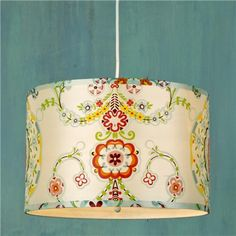 Carnival Wonderland Drum Shade Pendant