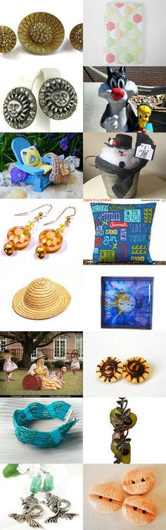 Summer Fun In The Sun by Nancy on Etsy--Pinned+with+TreasuryPin.com