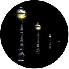 Rosco Plastic Gobo - Street Lights Rosco Cool Ink 86697
