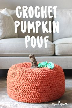 If you browsed through the new Yarnspirations StitchFlix Season 1 Lookbook, you probably came across the most adorable Crochet Apple Pouf (get the pattern HERE)! A cute piece of decor for the Fall season and a great project to add to your Fall crochet to-do list! But I was thinking… wouldn't it look super cute …