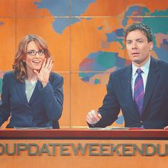 Tina and Jimmy, Weekend Update, SNL