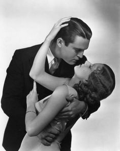 """Chester Morris and Jean Harlow """"Red Headed Woman"""" 1932"""