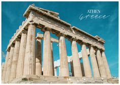 Akropolis | Urlaubsgrüße | Echte Postkarten online versenden | MyPostcard.com