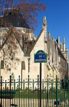 La rue de la Parcheminerie (Paris 5ème). Rue de mon école primaire