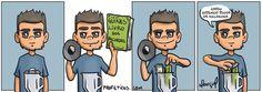 Marçal Morando Sozinho é uma série meta-auto-biográfica do Autor Rafael Marçal onde são explorados temas domésticos, cotidianos e de relacionamentos. Para acompanhar mais tiras da série, clique aqui.Leia mais...