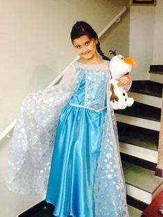 Vestido #Elsa disponível para aluguel #venda sob encomenda!!!