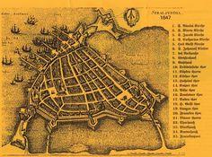 Stadtkarte stralsund