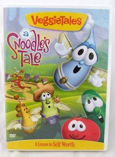 VeggieTales Veggie Tales A Snoodle's Tale DVD Fairy Larry Cucumber Bob Tomato