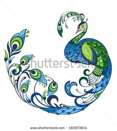 Image result for zentangle peacock with colors