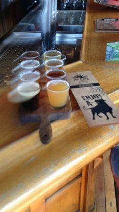 Holgate craft beer tasting paddle
