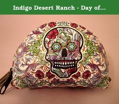 Indigo Desert Ranch - Day of the Dead Coin Purse - Leather Catrina Floral. Day of the Dead (Spanish: Día de Muertos) is a Mexican holiday celebrated throughout Mexico, in particular the Central and South regions, and by people of Mexican ancestry living in other places, especially the United States. It is acknowledged internationally in many other cultures. The multi-day holiday focuses on gatherings of family and friends to pray for and remember friends and family members who have died…