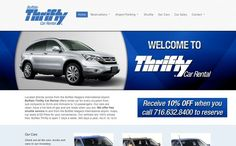 Located directly across from the Buffalo Niagara International Airport, Buffalo Thrifty Car Rental offers rental car for every occasion from sub compacts to SUVs and minivans to 12-passengers.