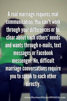 3 Difficult Marriage Conversations You Can't Ignore, and 6 Ways to Initiate Them | BlackandMarriedWithKids.com