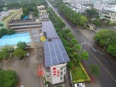 Starting from 19 Oct, 108 KW commercial grid-tied solar power system designed and installed by Dejiu Solar was finished in Foshan on Nov. Solar Power System, Solar Panels, Commercial, News, Outdoor Decor, Design, Home Decor, Sun Panels, Decoration Home