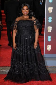 Baftas February 18 2018 Octavia Spencer