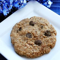 Single-serving chocolate chip cookie.