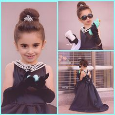 Mini Audrey Hepburn-the Girl Size Breakfast at Tiffany's Multi Strand Pearl Necklace #iamanaudrey #audrey #hepburn #costume #romanholiday #breakfastattiffanys #audreyhepburn #collection #breakfast #at #tiffanys #sleep #eye #mask #black #dress #tassel #earings #halloween #girls #woman  #outfit #cute #classic #pearl #tiara #necklace #jewelery #earplugs #holly #golightly #sleepmask #girl #women #gift #movie #outfit #deguisement #actresses #actress #costumedress
