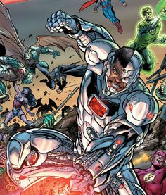 Cyborg by Paul Pelletier