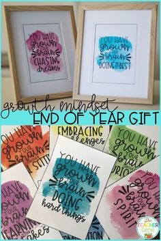 These word art designed posters can be placed in photo frames as a wond Student Gifts End Of Year, Presents For Students, End Of School Year, Kindergarten Art Projects, Kindergarten Graduation, End Of Year Activities, Preschool Gifts, Word Art Design, Future Classroom
