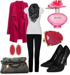 """Pink"" by nataliegrl on Polyvore"