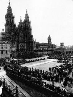 Peregrinación da arma de cabalería. Ano santo 1948 | Pilgrimage of Cavalry. Holy year 1948
