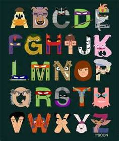 Teenage Mutant Ninja Turtles Illustrated Alphabetjpg