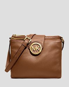 MICHAEL Michael Kors Crossbody - Fulton Large | Bloomingdale's